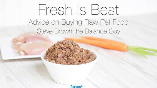 Buying Raw Pet Food