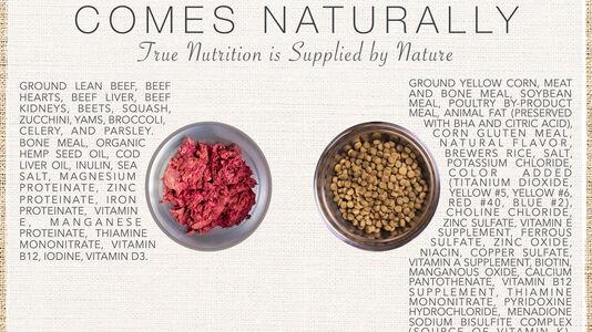 Premium Dog Food Comes Naturally