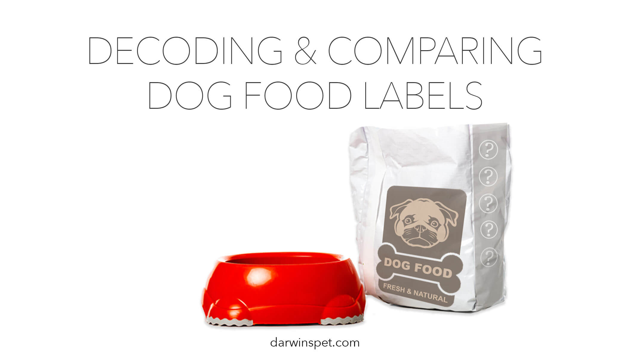 Decoding and Comparing Dog Food Labels