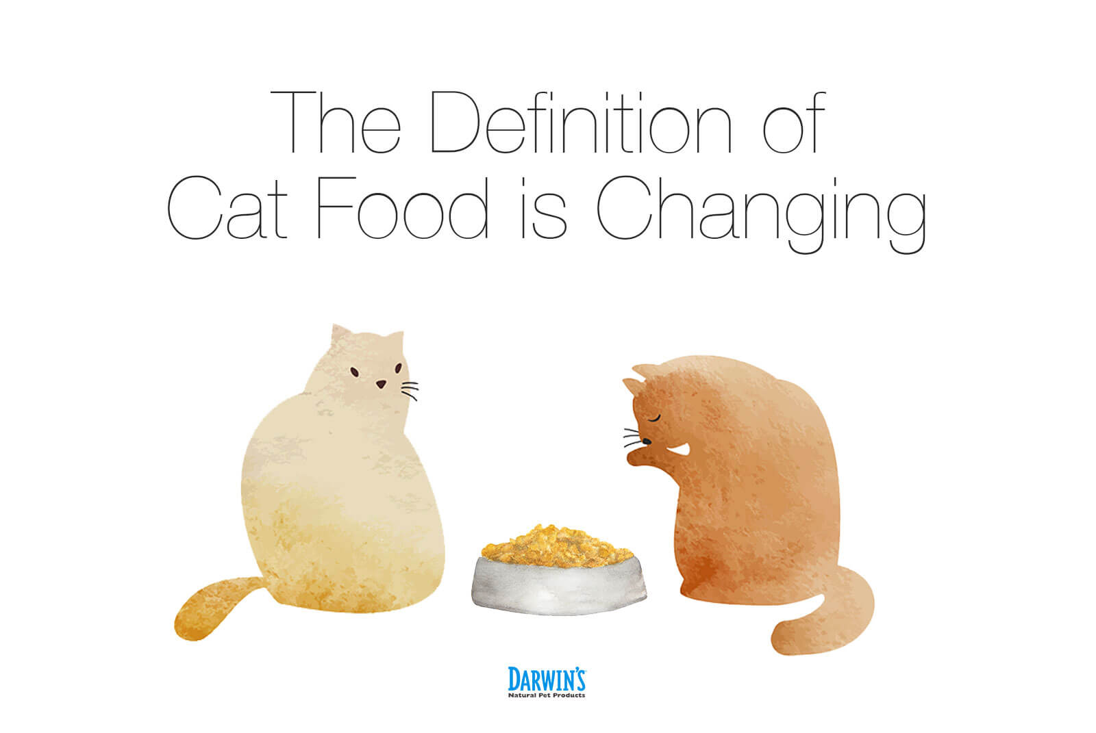 Is Cat Food Changing?