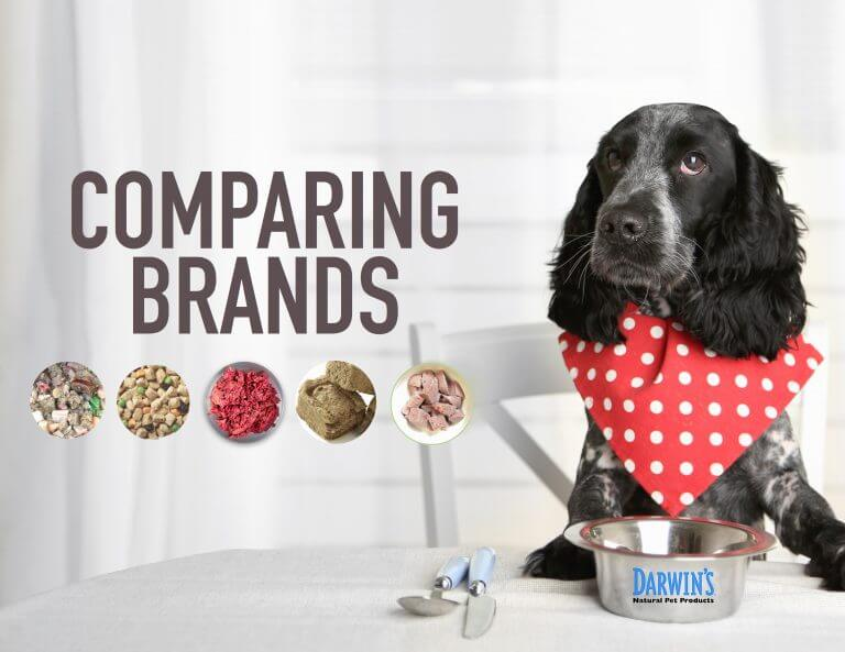 How To Compare Dog Food Brands