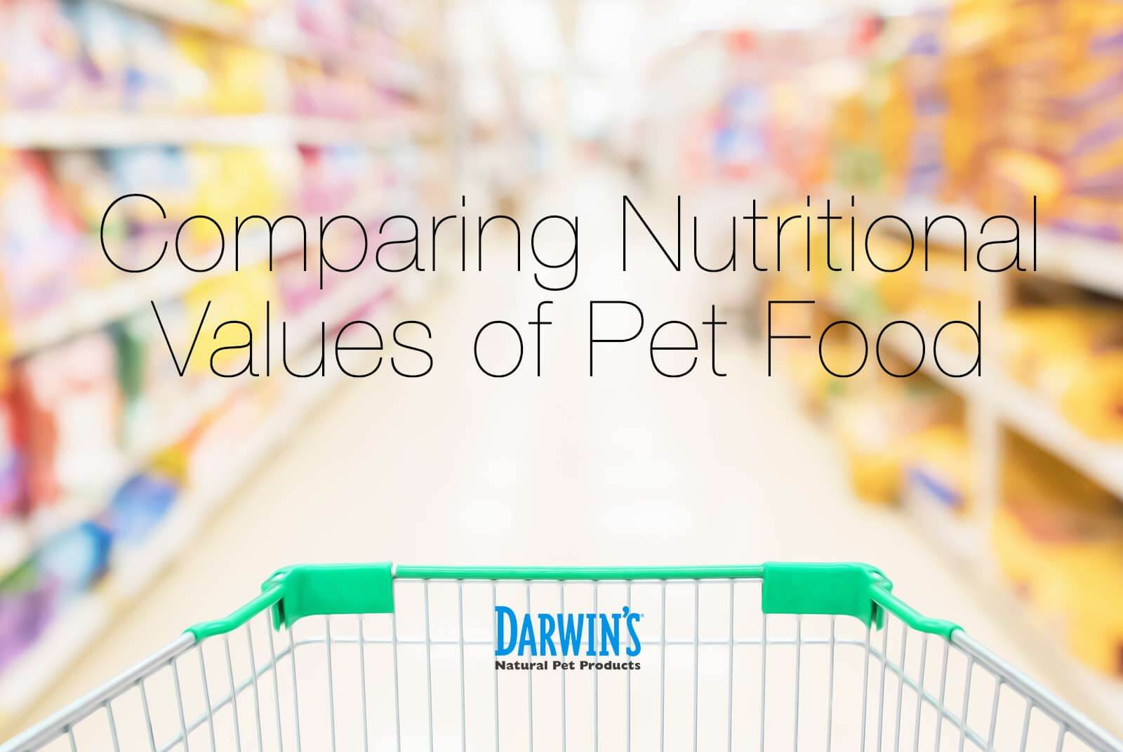 Comparing Nutrition in Pet Foods
