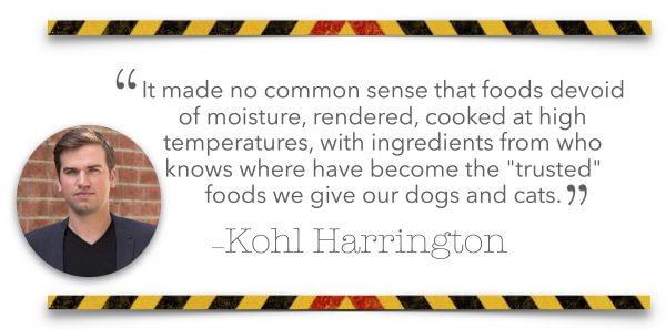 Kohl Harrington quote